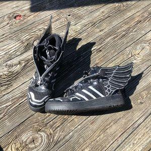 Adidas x Jeremy Scott wings 2.0 black mesh
